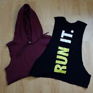 F21 Bundle of gym tops